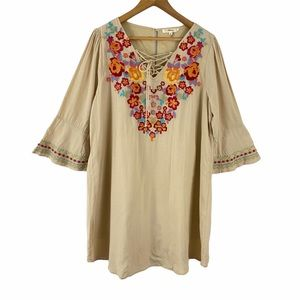 Andree by Unit Embroidered Tunic Dress